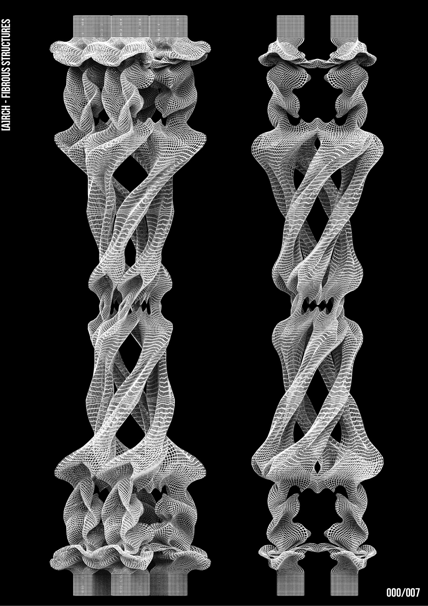 architecutre digital 3D art