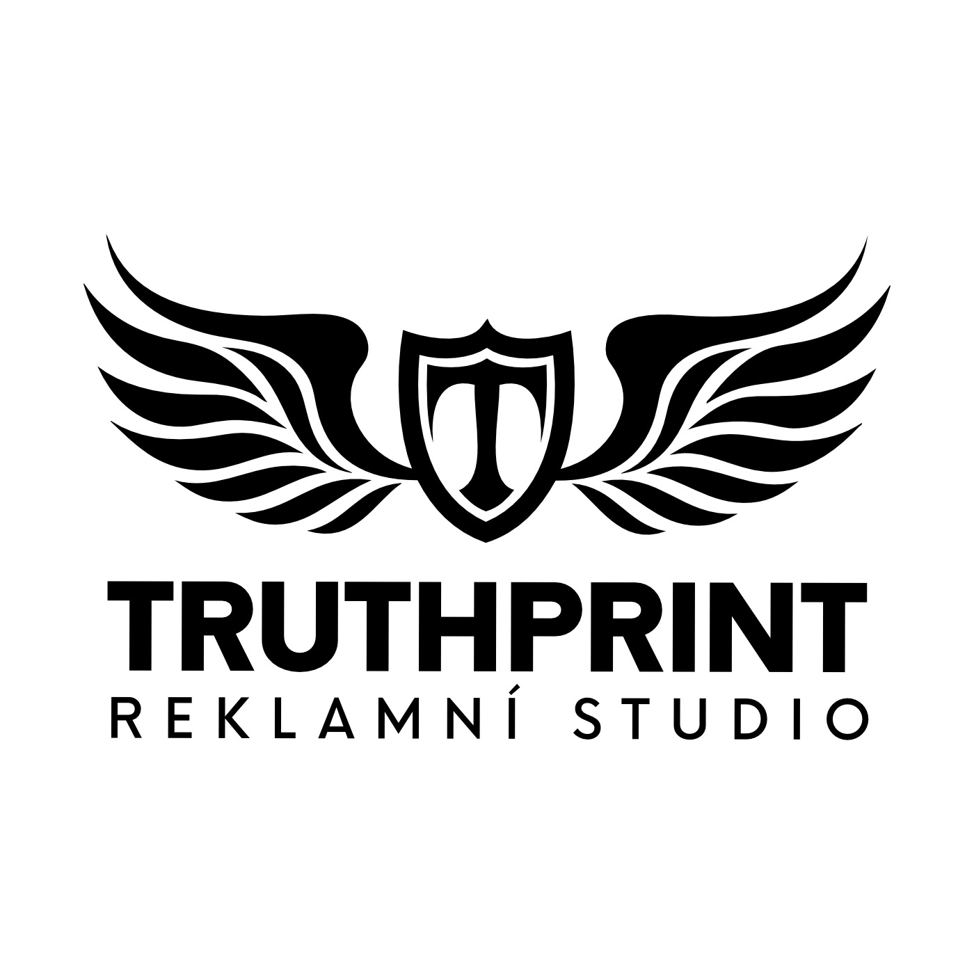 agency design logo print studio truhtprint truth branding  graphic design  Logotype