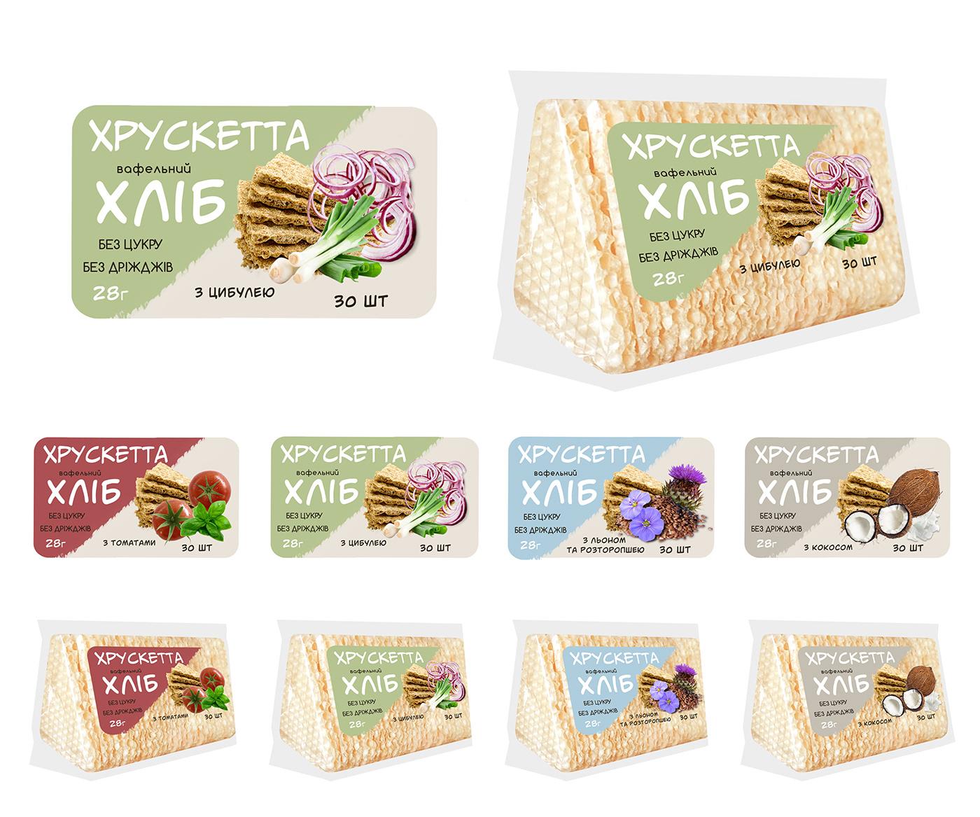 bread package design