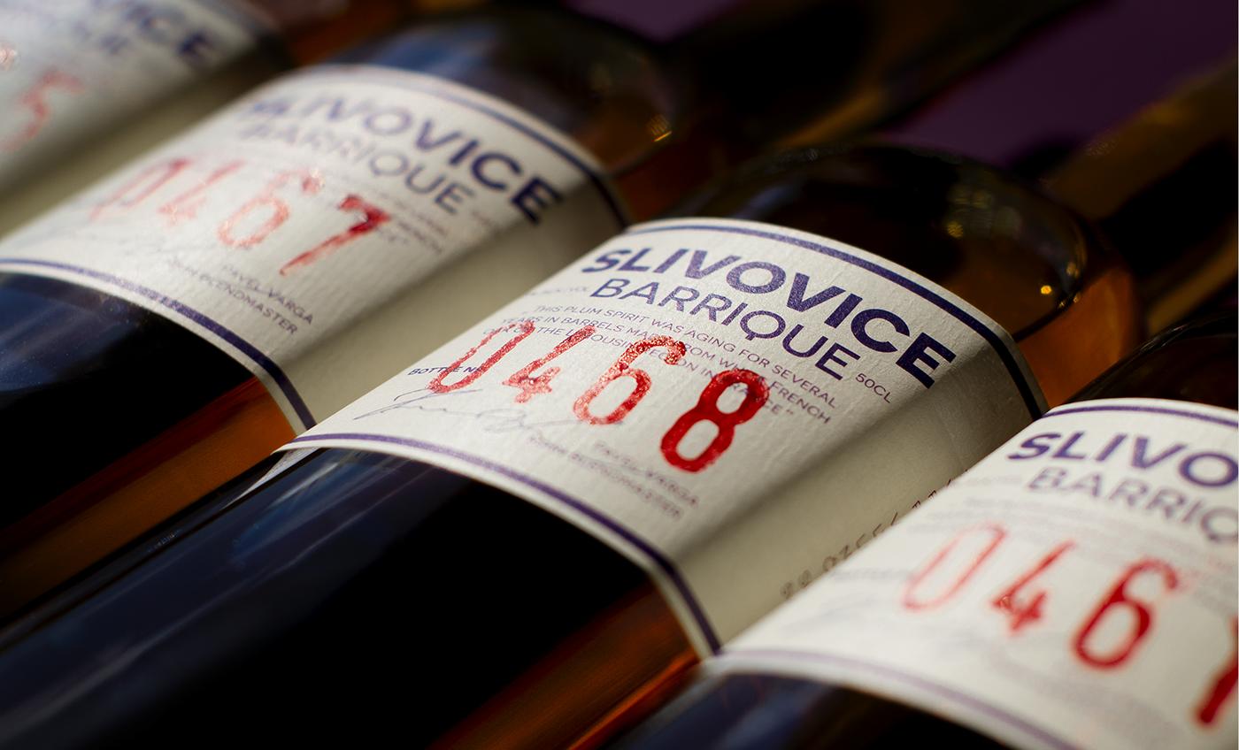 graphic design  design Label Packaging plum distillate amoth amothdesign alcohol limited edition amothstudio