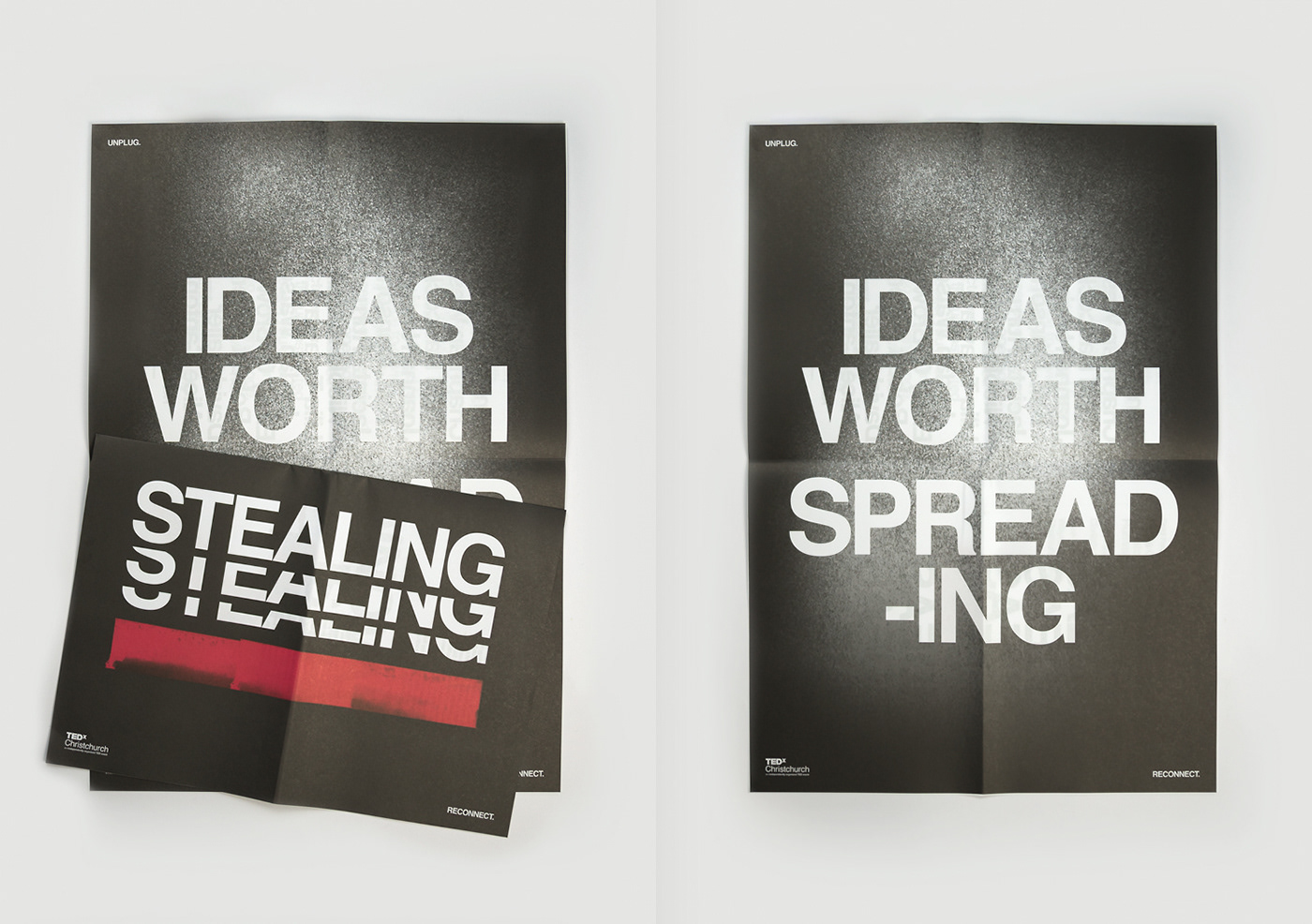 TED TEDx helvetica newspaper Event ideas worth sharing