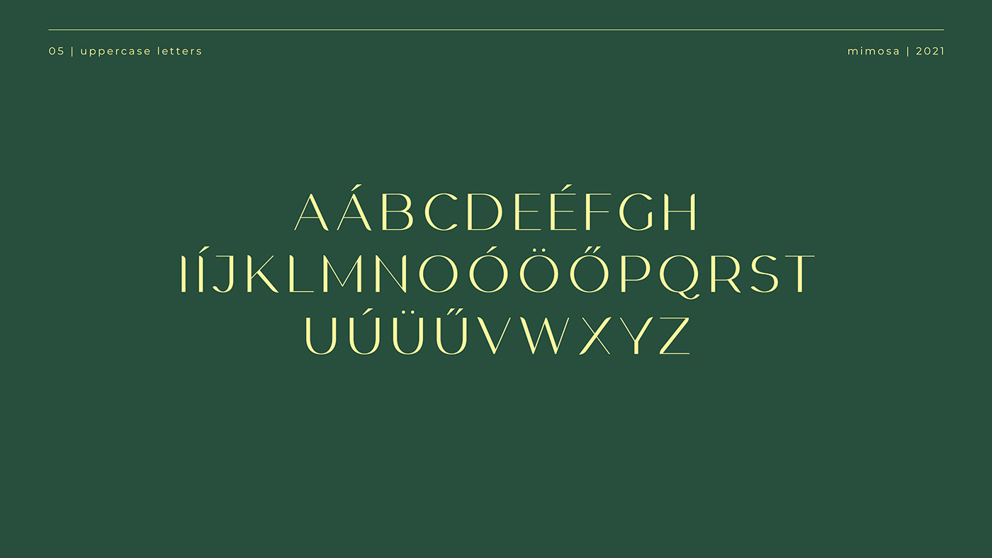font mimosa type Typeface typography