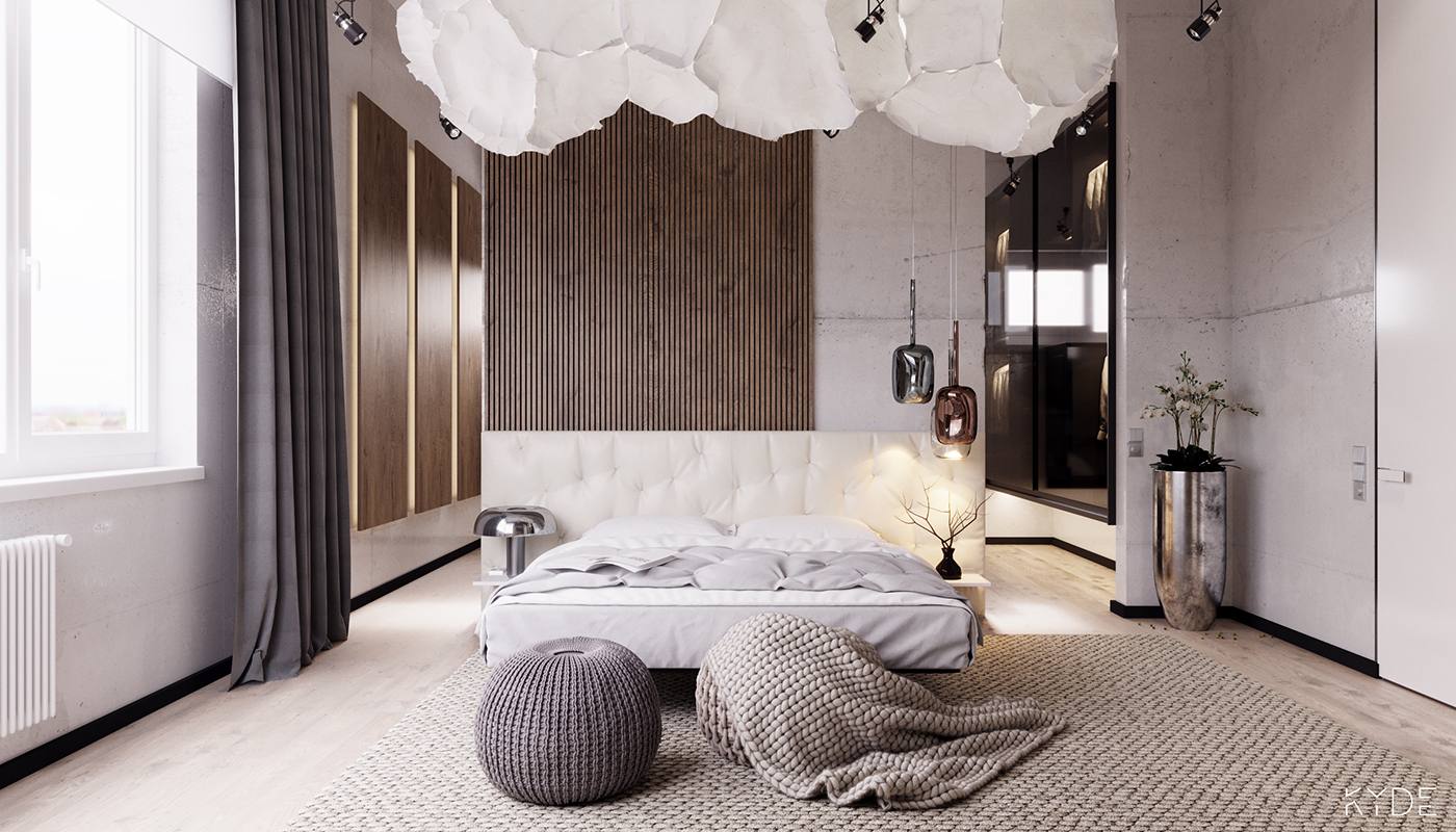 design of small bedroom the room moscow on behance 15138