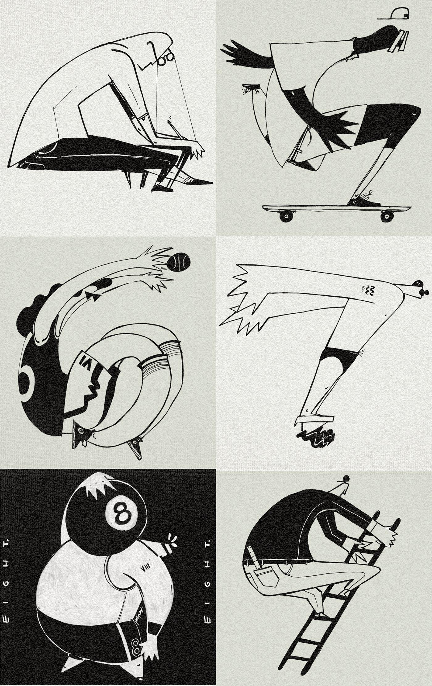 36daysoftype ALPHOBIET phobias typography   Drawing  pen Typeface typo concept