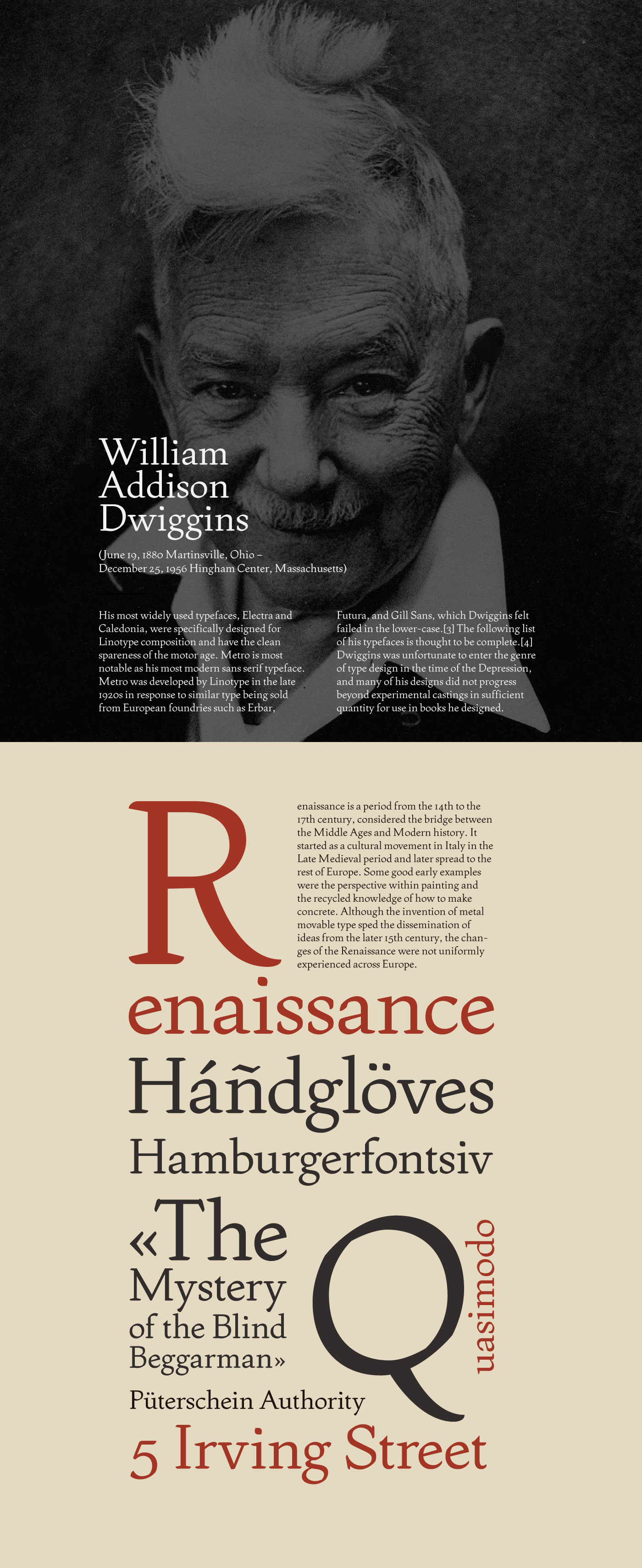 the life and works of william addison dwiggins