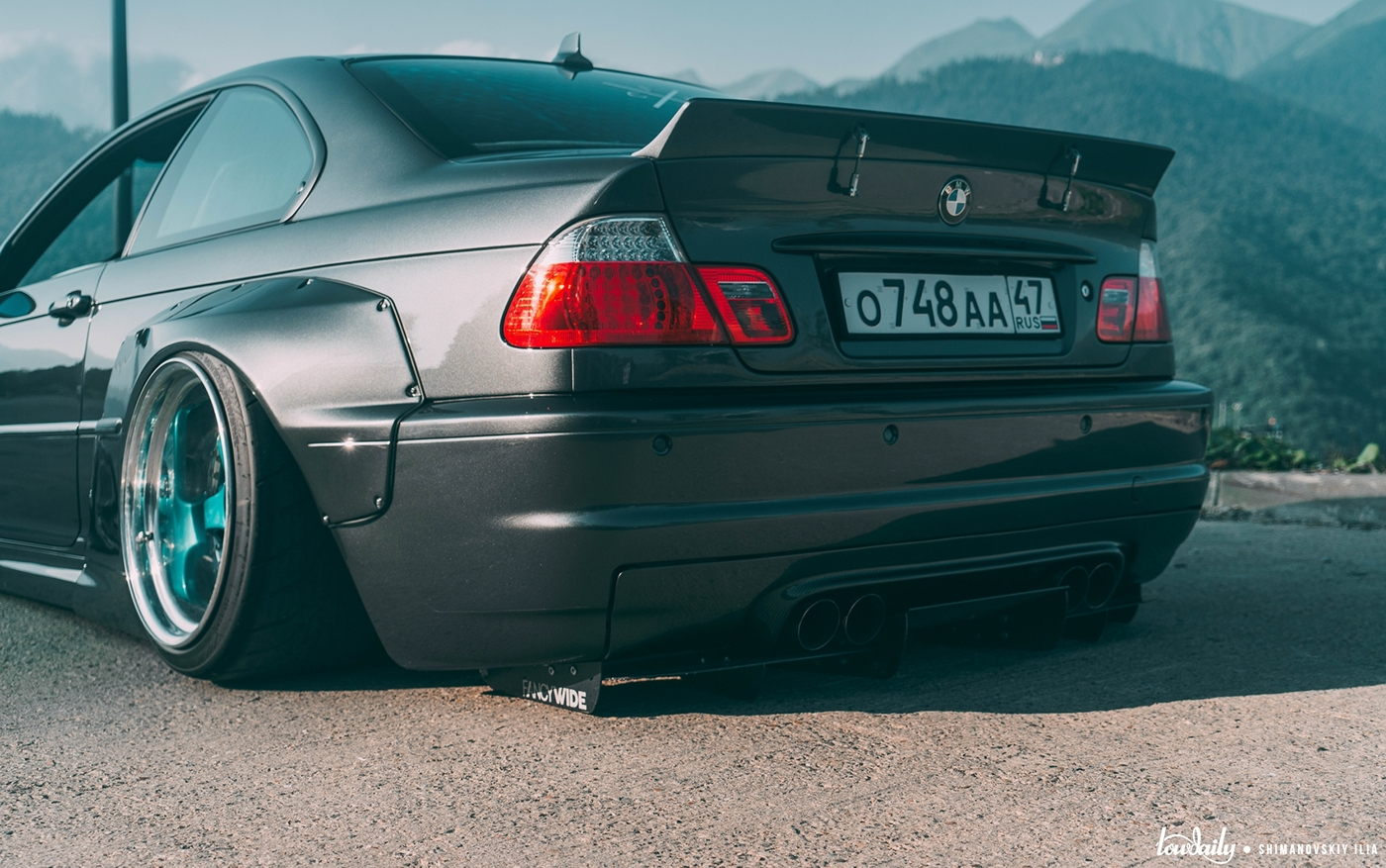 Bmw M3 E46 Pandem Widebody Kit On Behance