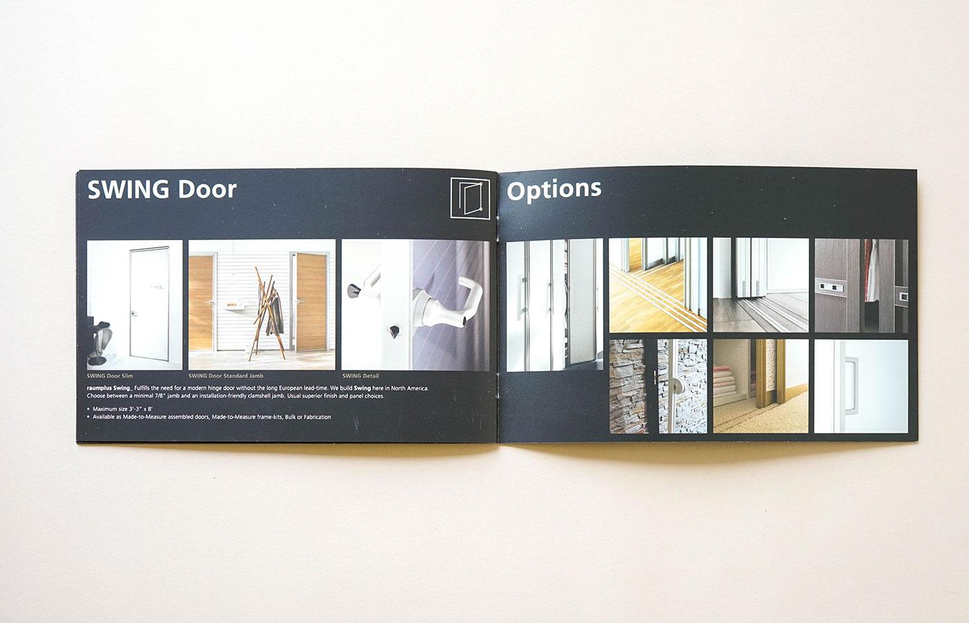 Brochures Ads Collateral Manufacturer Sliding Doors On Behance