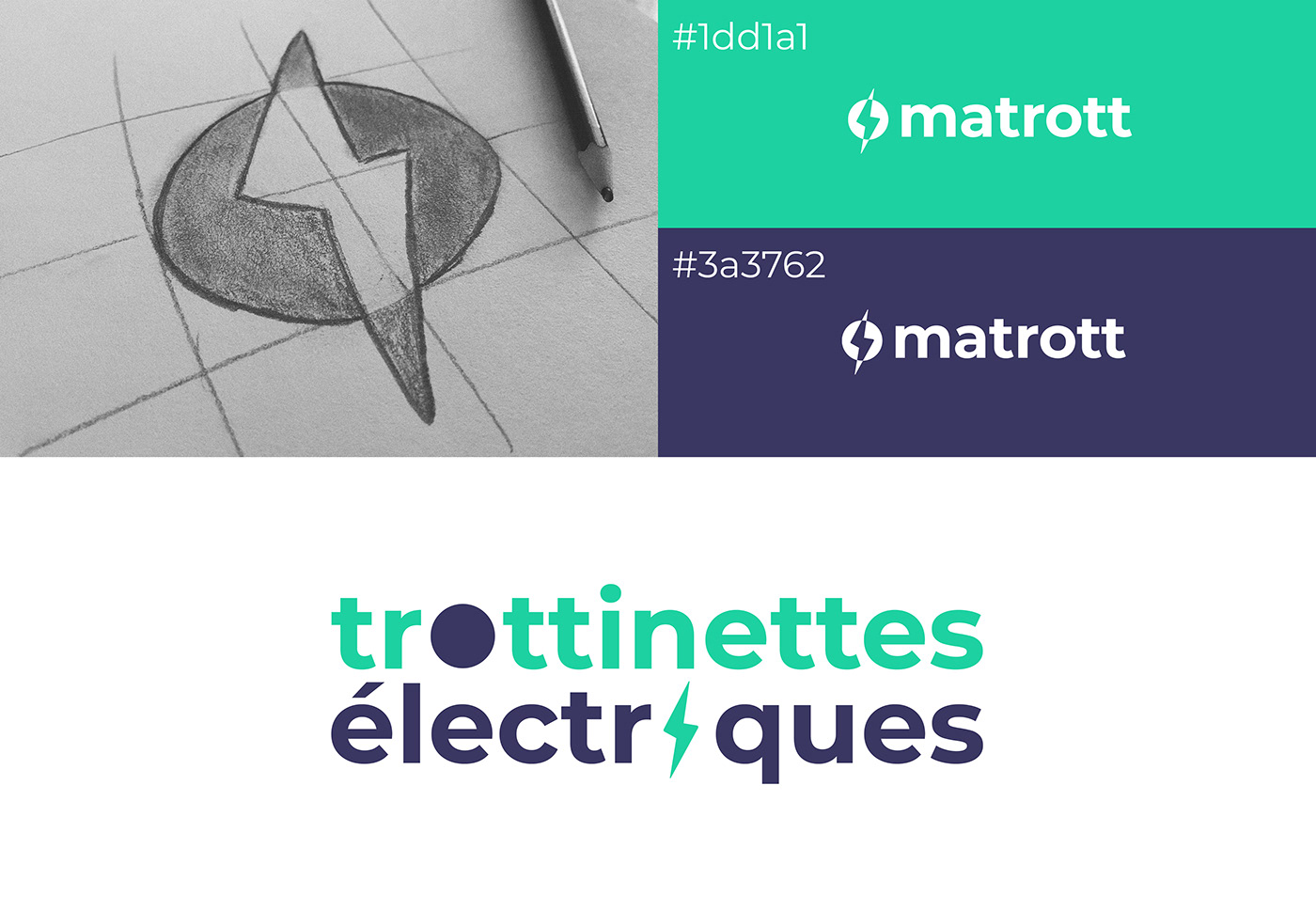 Trottinette Scooter electrical electrique graphic charter UI ux design xD