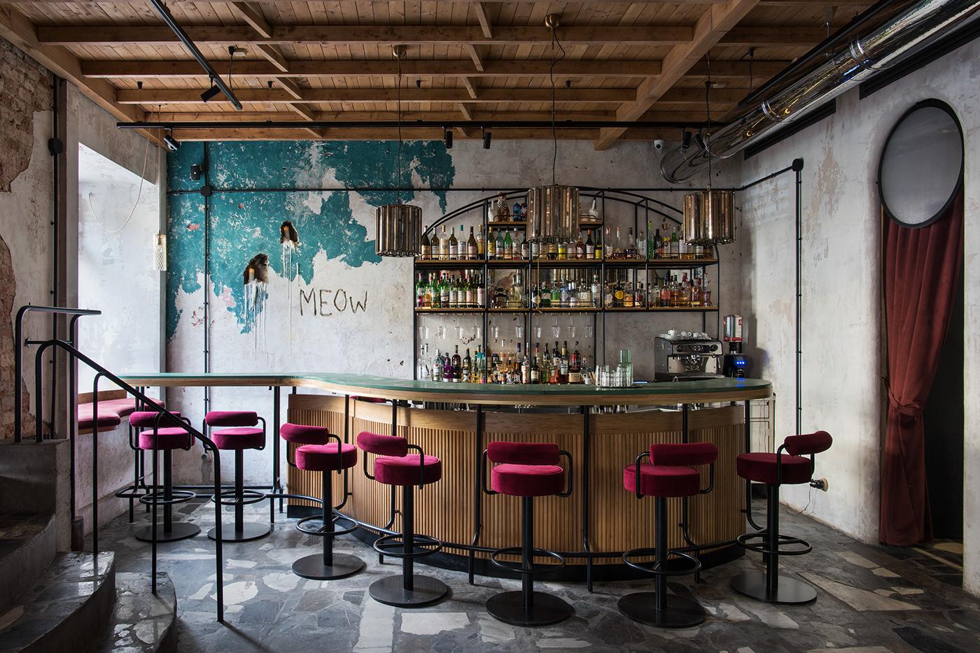 bar decor design HORECA Interior paum restaurant