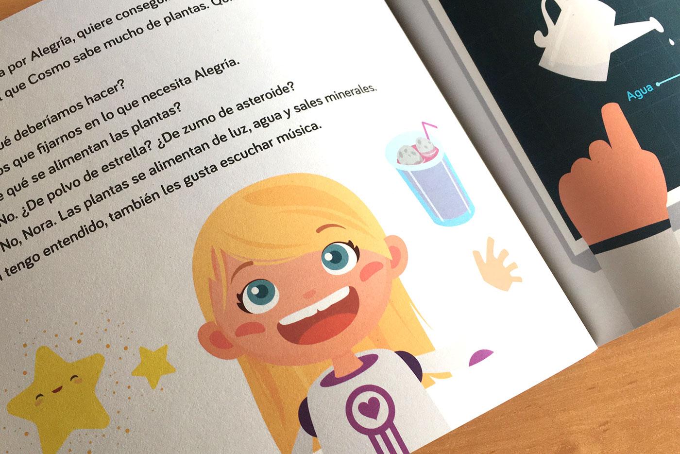 cuento ilustracion Diseño editorial