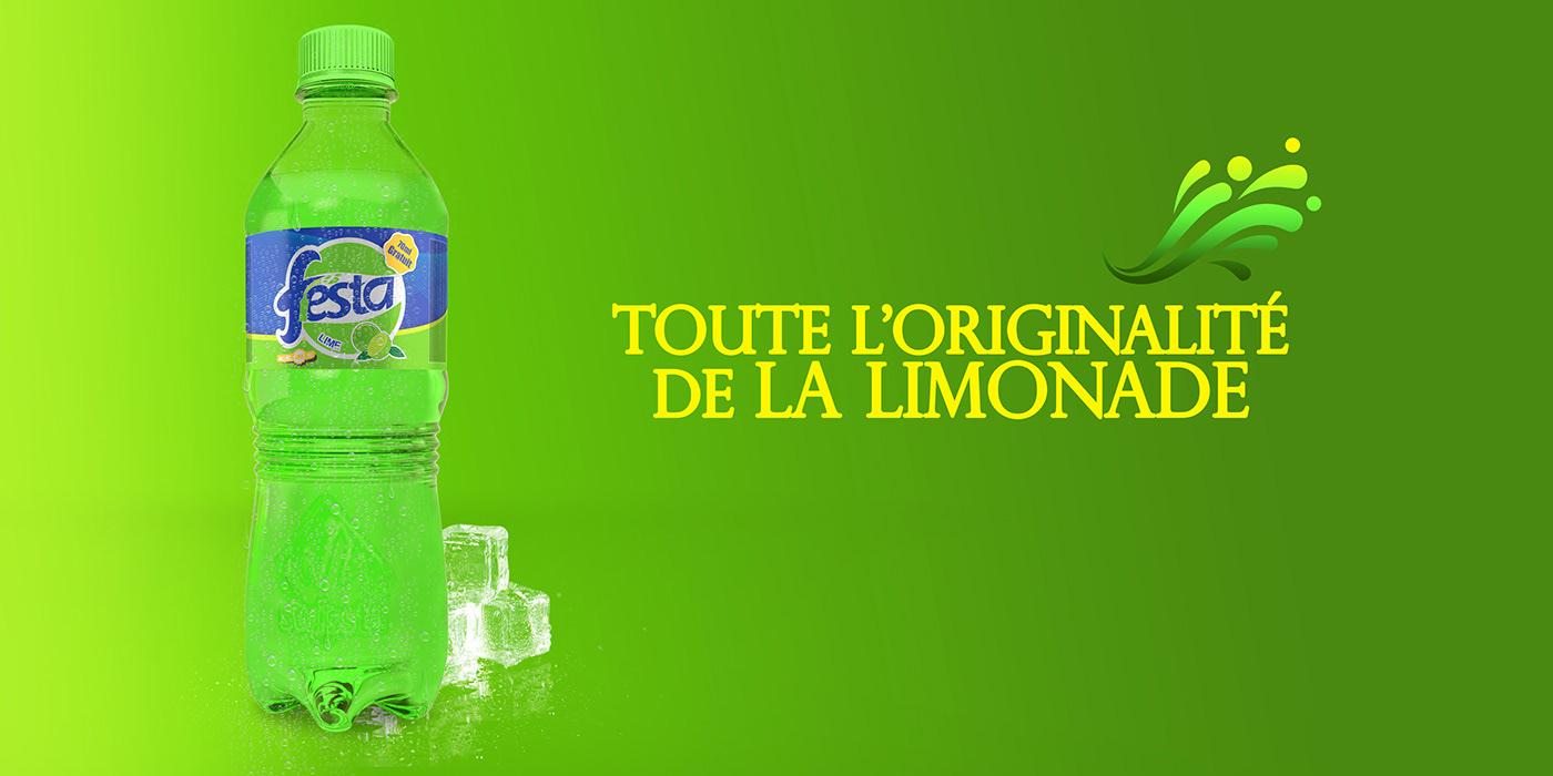 Festa provides the best orange, ananas, grenadine, cola & soda flavour soft drink in Kinshasa, RDC.