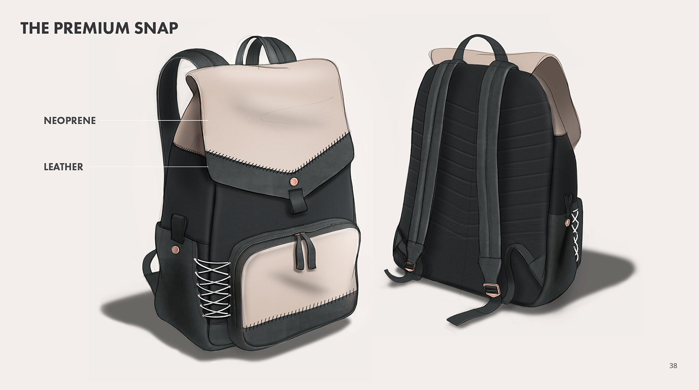 Everlane Premium Snap Backpack on Behance