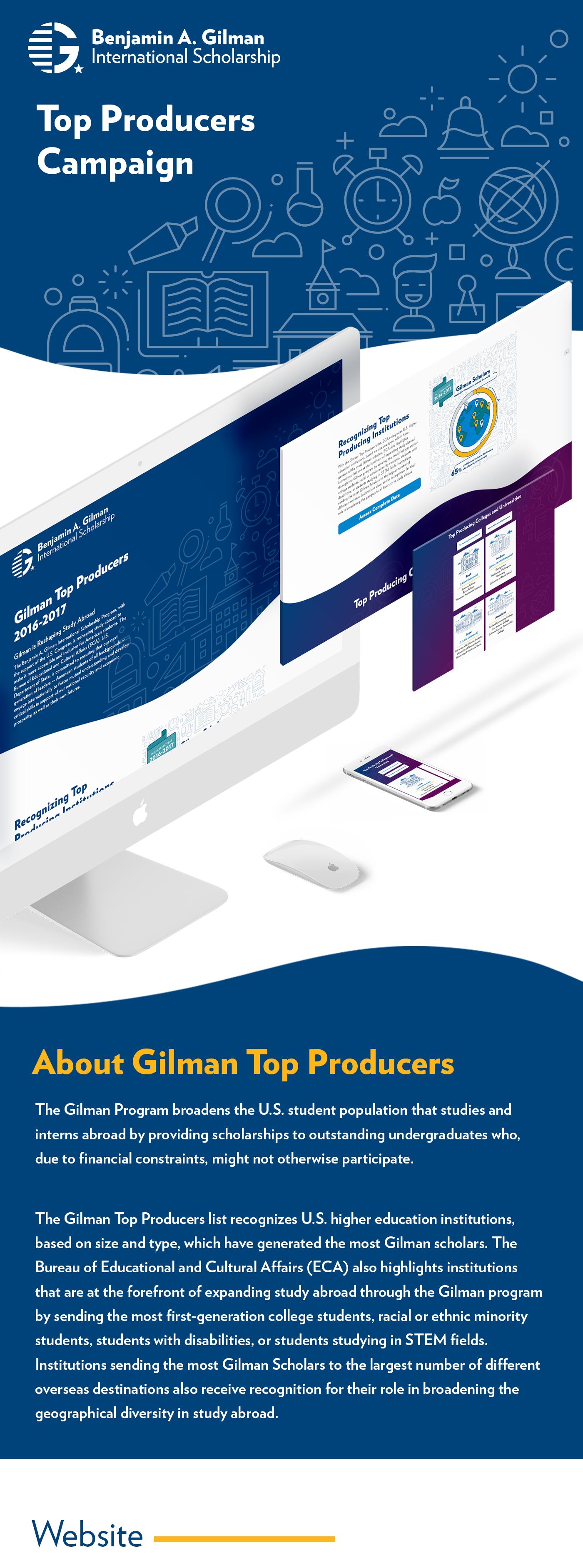 Web Design ,gilman,top producers