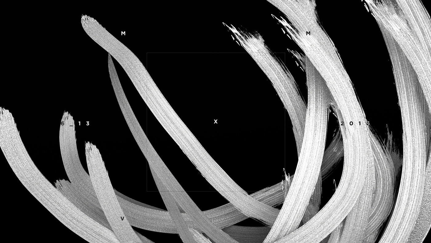 abstract black and white projection motion graphics  animation  Event neocon paint graphic contrast