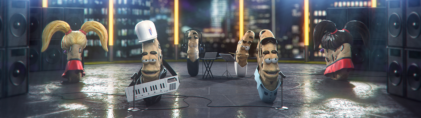 pepitos galletitas animation  3D nene malo