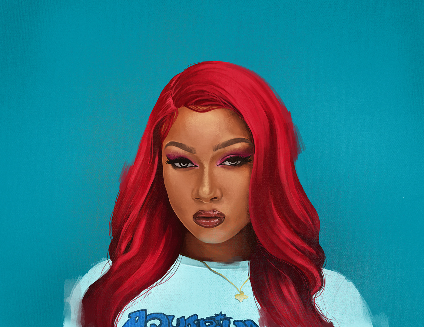 megan thee stallion on behance megan thee stallion on behance