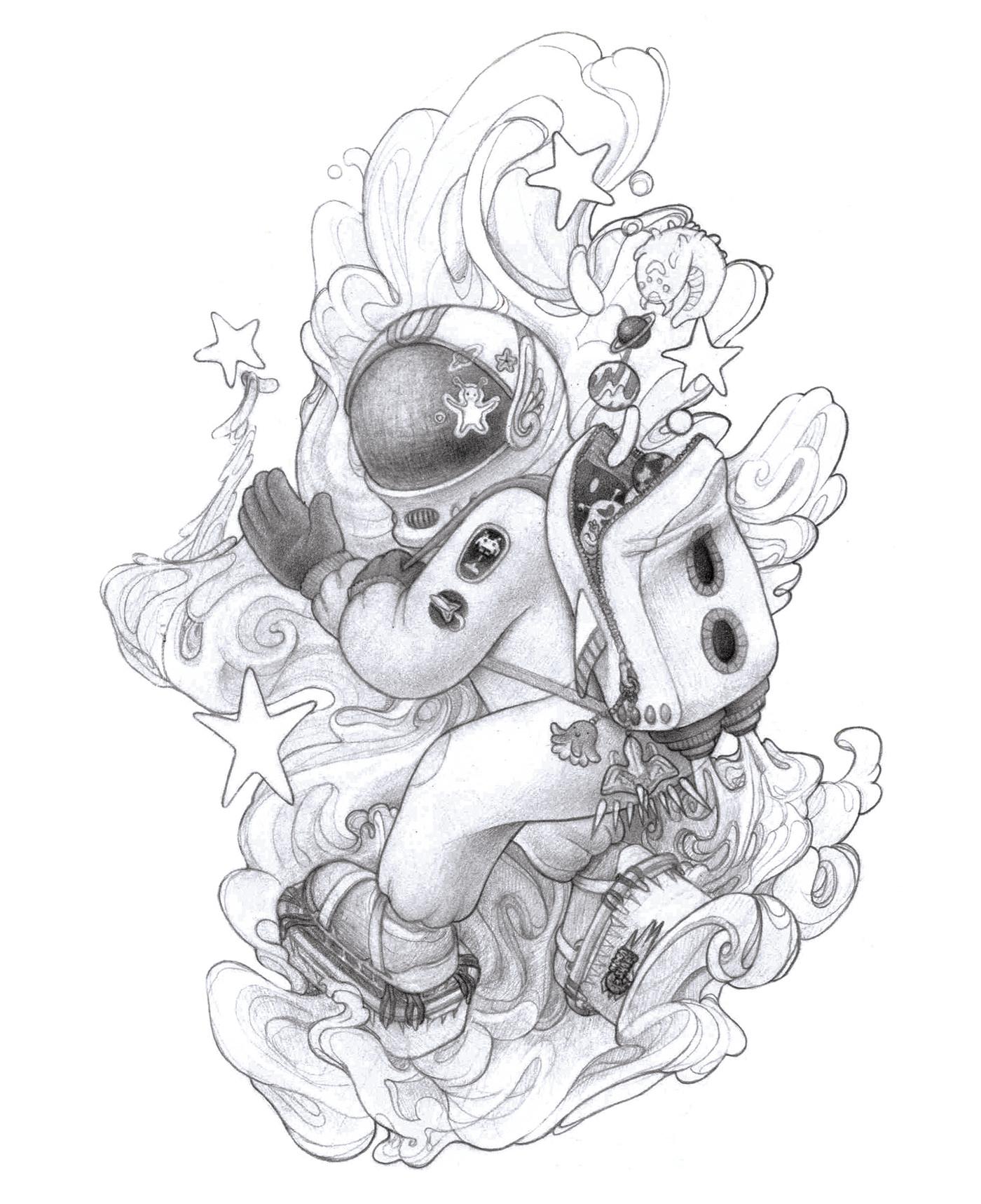 Character childhood Digital Art  Digital Drawing Drawing  Game Art moleskine sketch sketchbook Video Games
