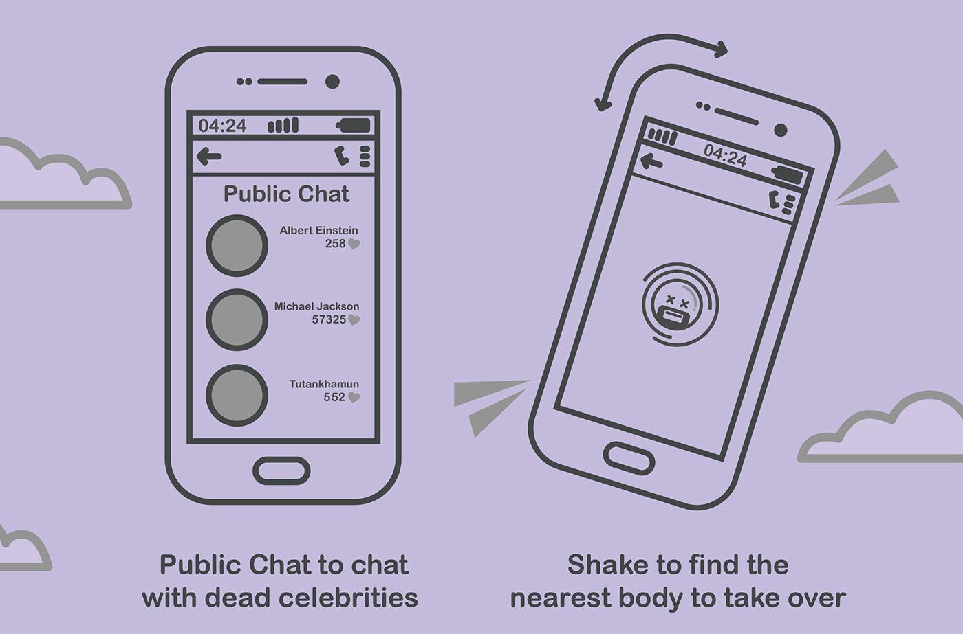 heaven six die feet boredom under Chat free texting app