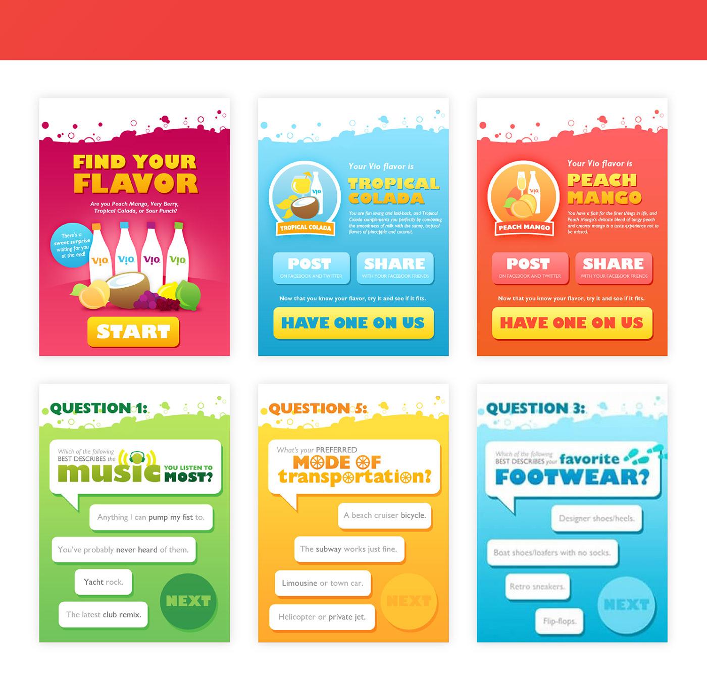 Vio Coca-Cola interactive Web