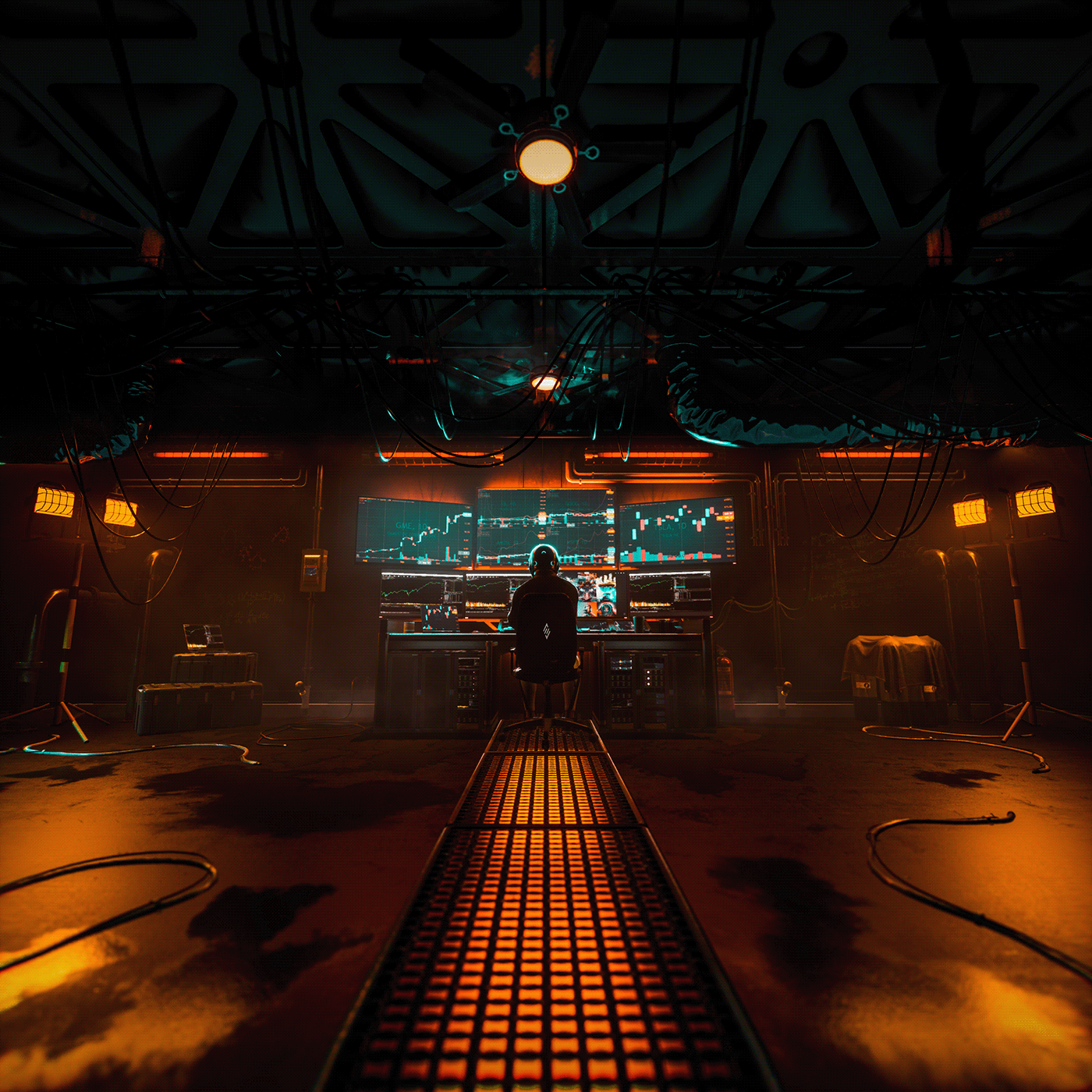 art CGI cinematic cryptoart Cyberpunk motion nft stocks trading