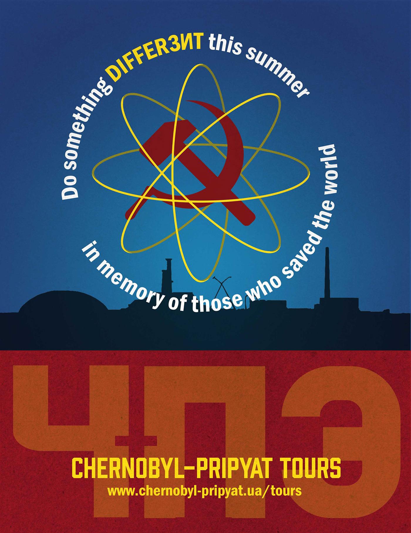 chernobyl Illustrator photoshop ukraine