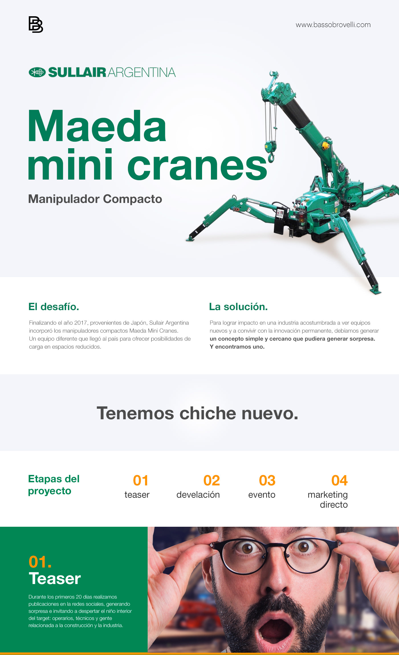 Campaña lanzamiento Sullair Argentina social media mailings video creative concept desing post facebook