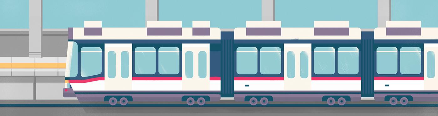 Art Within Transit Adding Art Into Mrt On Behance