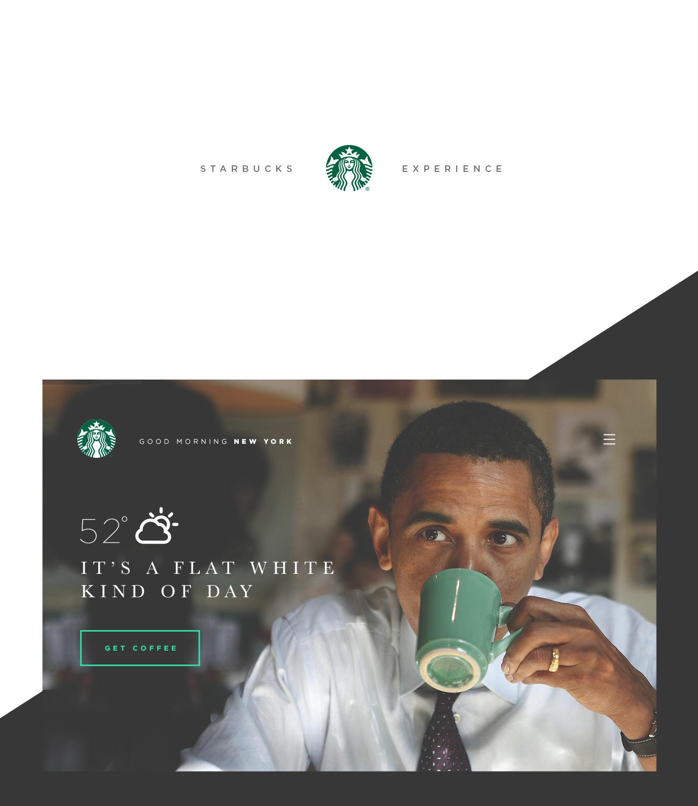 Starbucks Experience - Visual Design