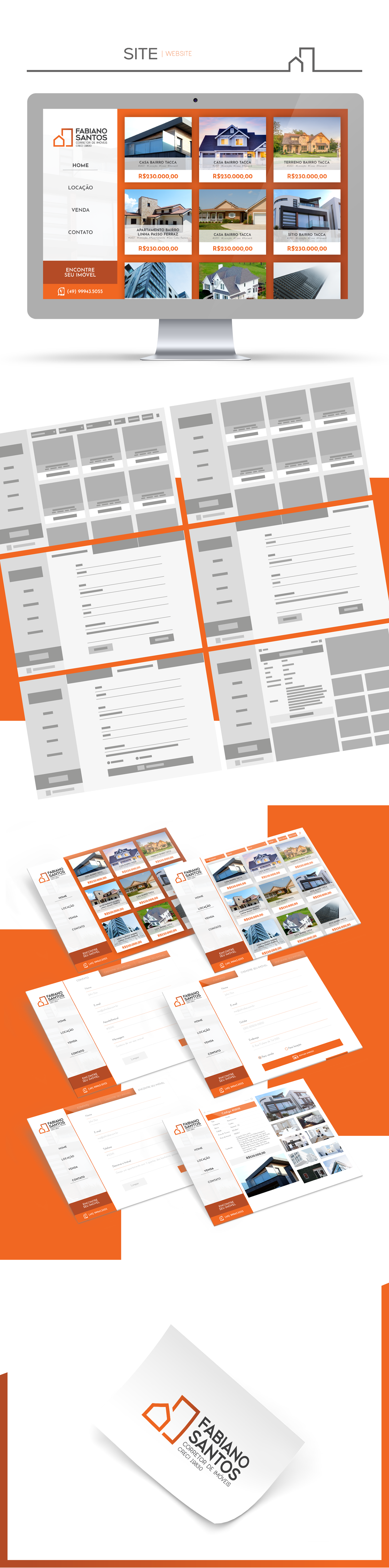 brand Website agent broker Real State realtor aleto aleto design aleto design digital fabiano santos