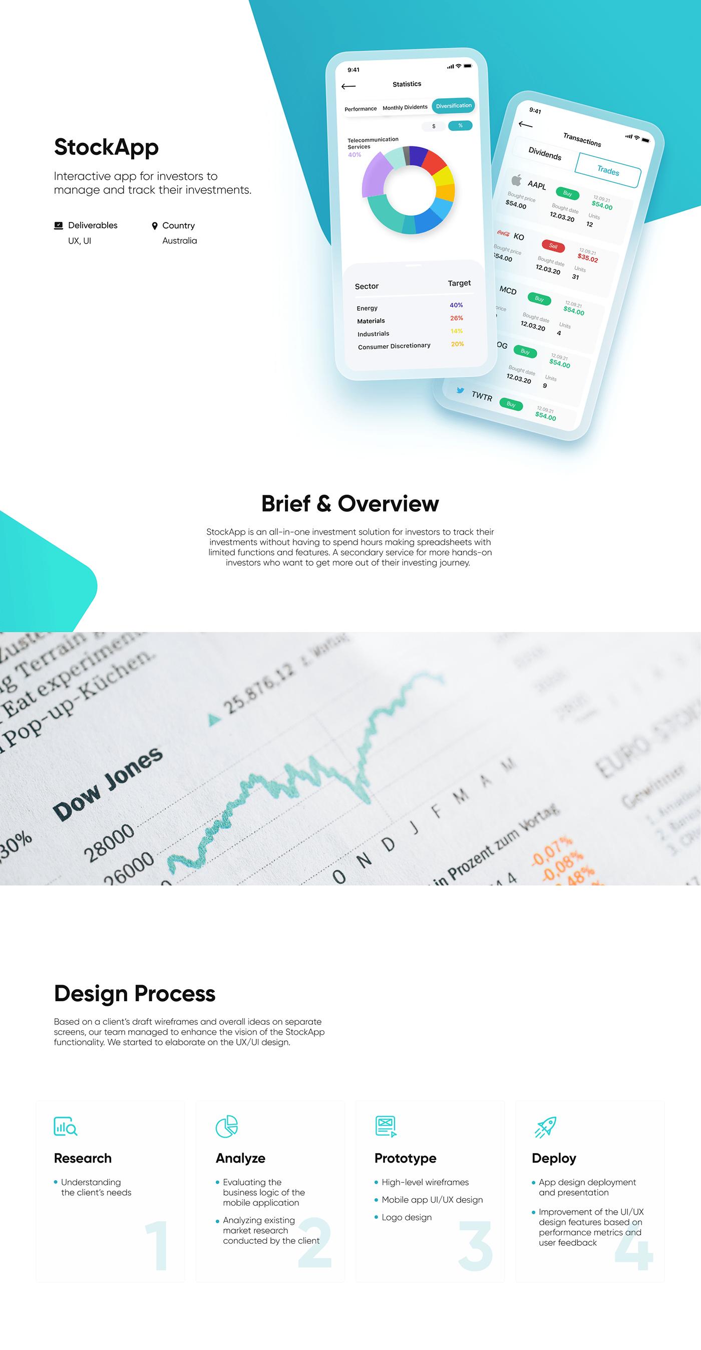 app design Platform SAAS site Startup stock UI ux Webdesign