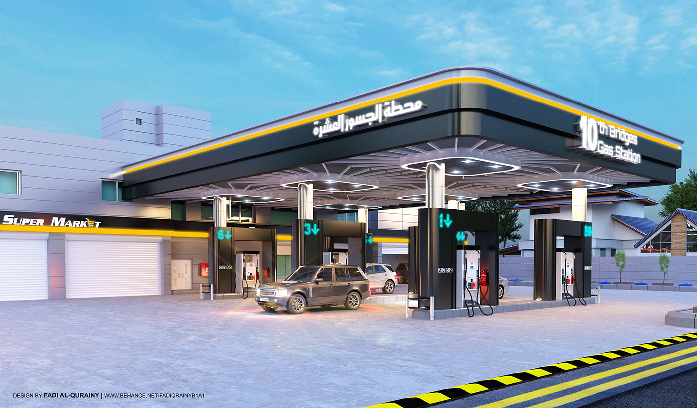 10th Bridges Gas Station Proposal on Behance