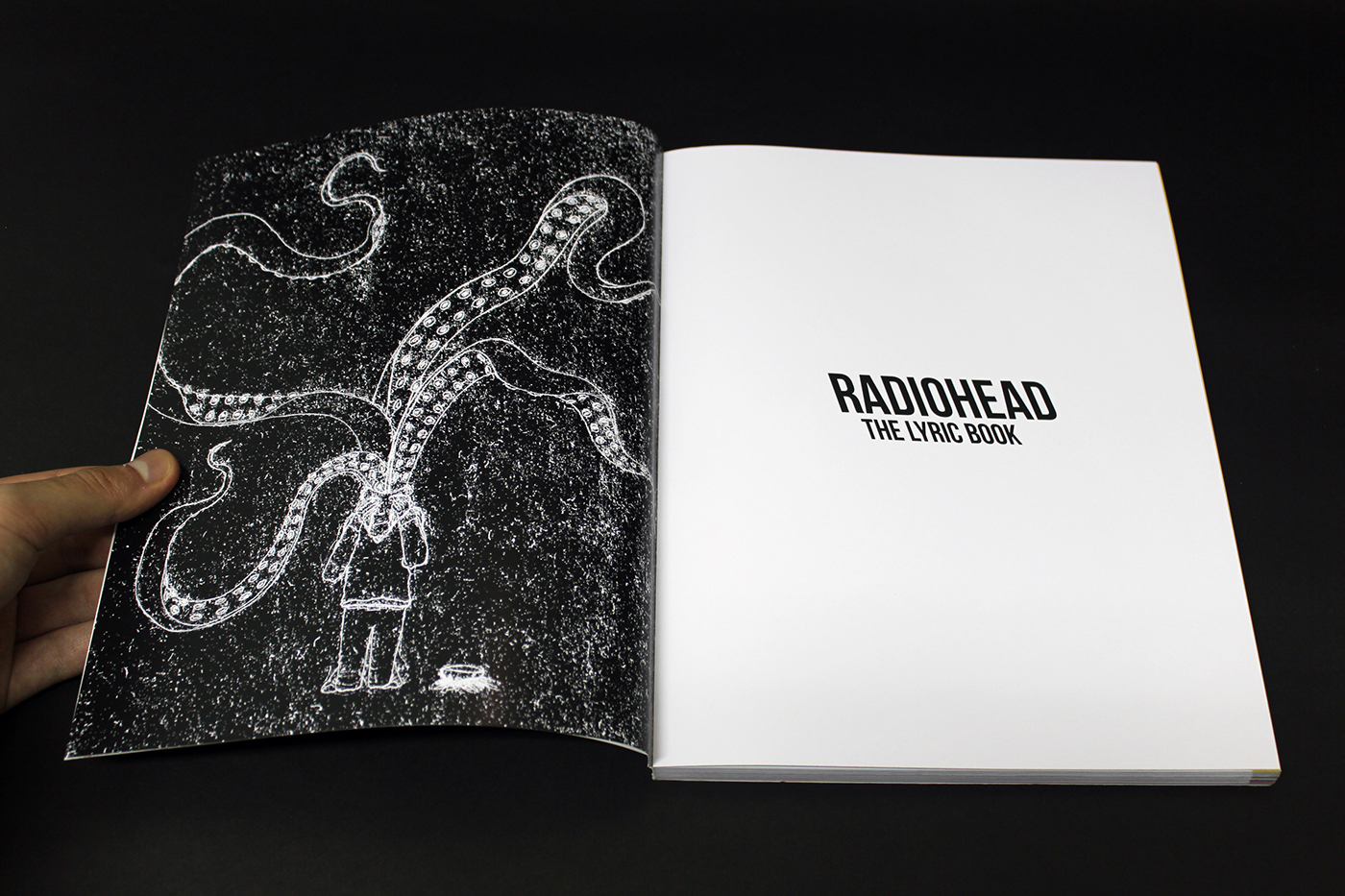 Radiohead the lyric book on behance all the photo art and illustrations including front and back cover are by the amazing stanley donwood except for the first one made by me izmirmasajfo
