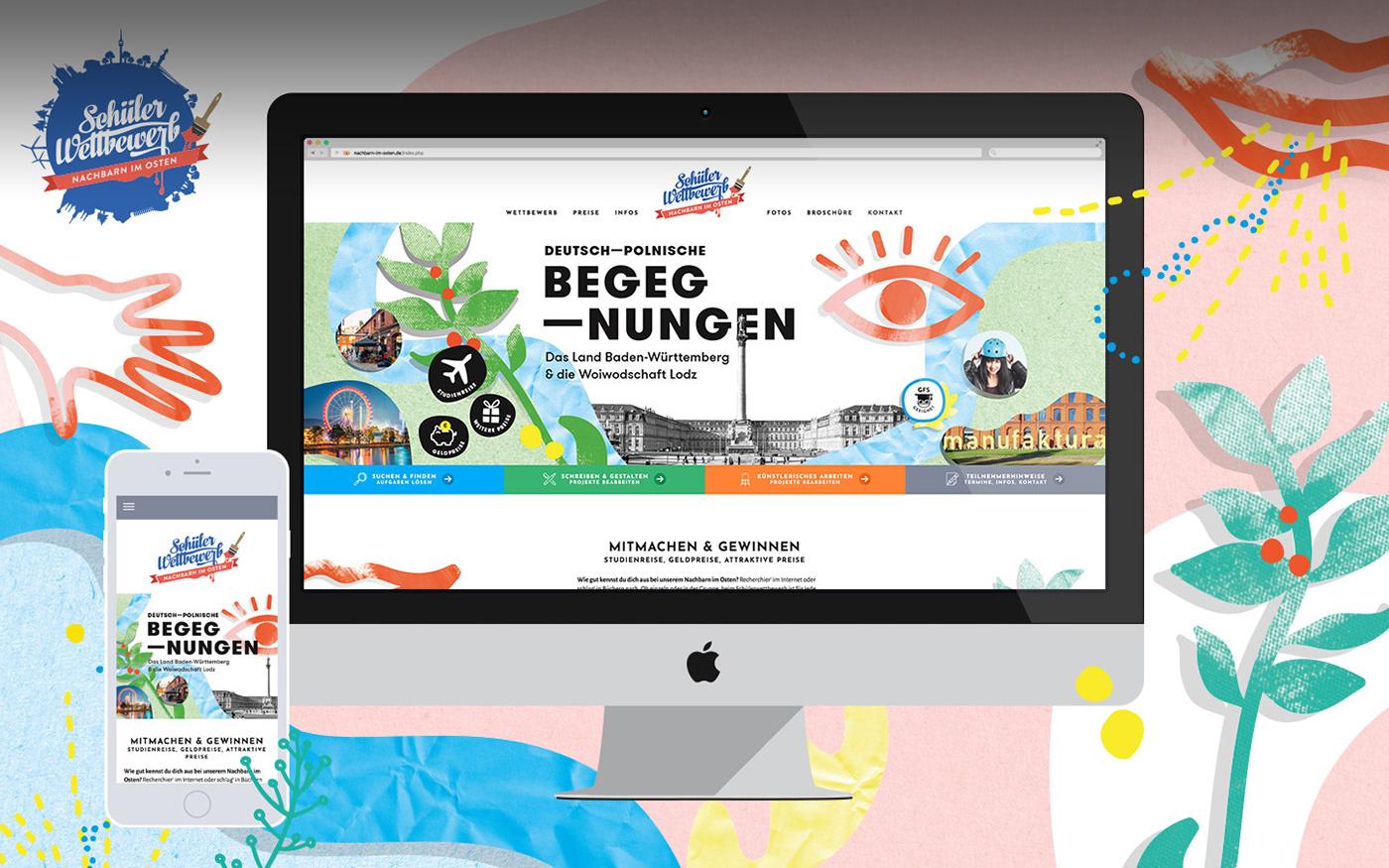 broschure Corporate Design ILLUSTRATION  online Webdesign