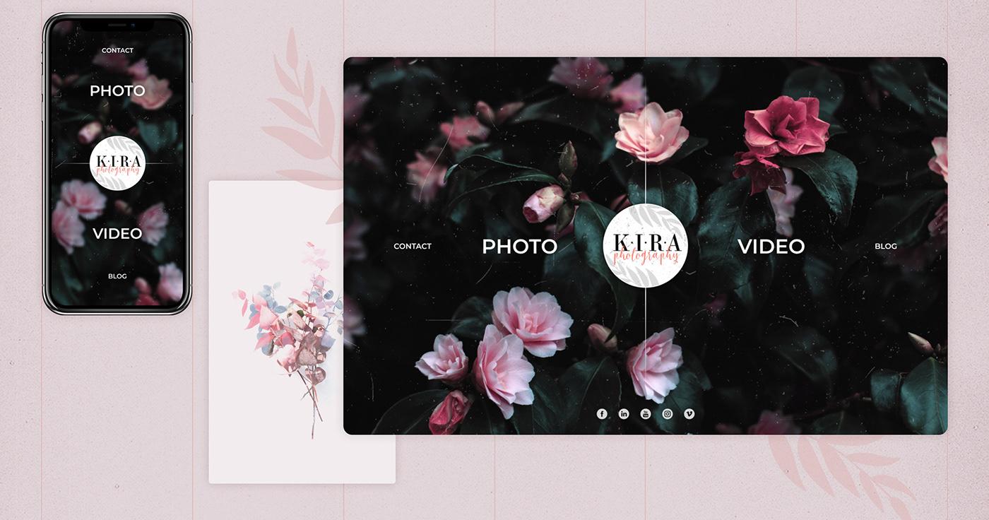 app design Interaction design  IxD Photography  portfolio Responsive UI ux Webdesign