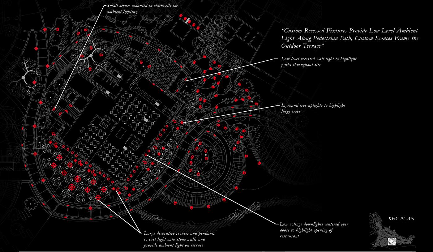 Lands End On Behance Lighting Diagram Low Key Thank You