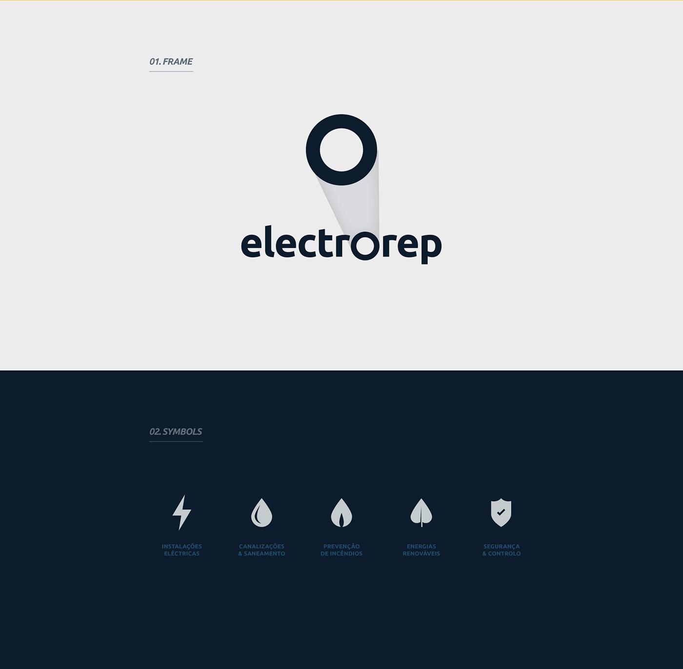 electricity electricidade branding
