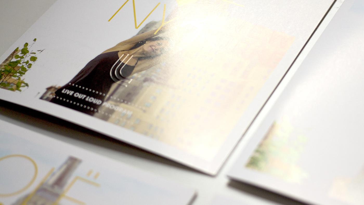 Lole ,New York,Program,newletter,infolettre,brochure,depliant,logo