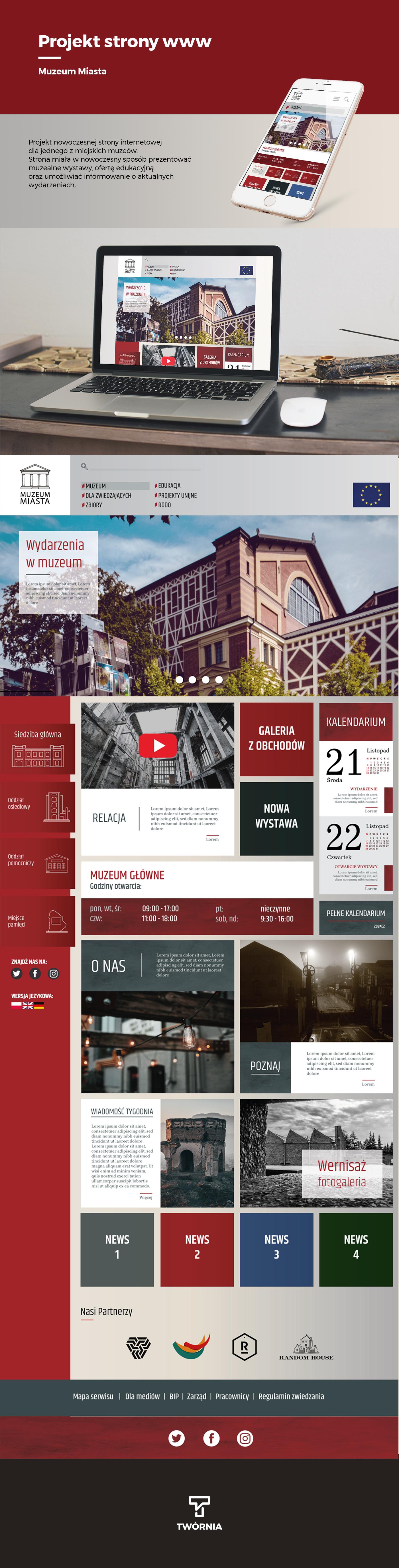 Webdesign Website www museum web project website project site