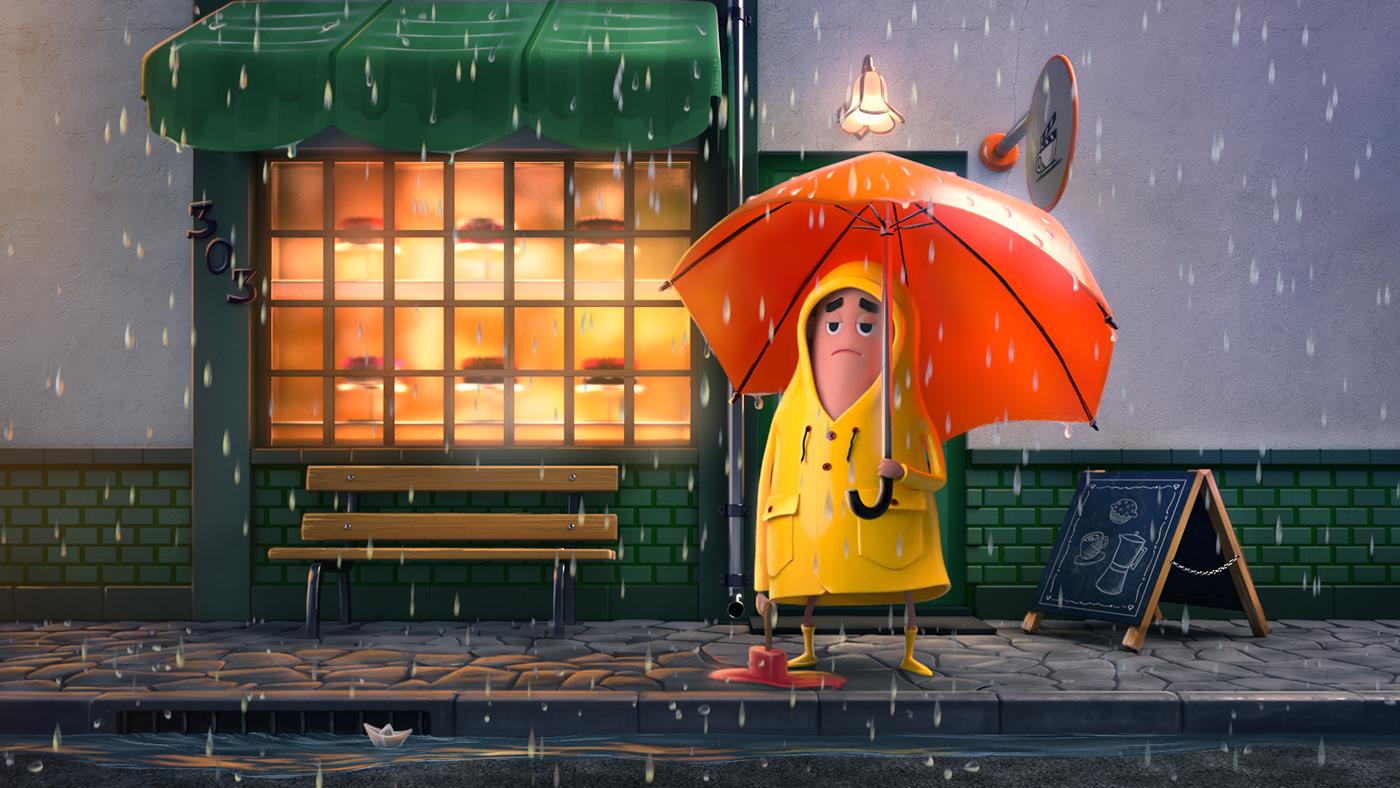 animation  3D Digital Art  energy short campaign humor funny cute