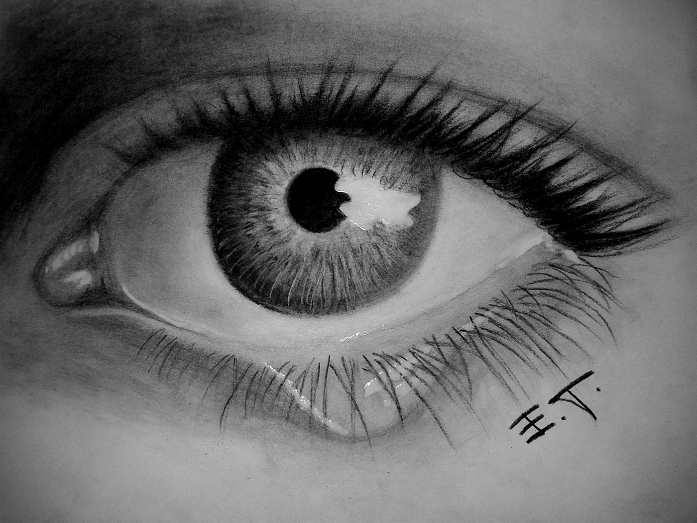 有美感的24款手繪眼睛欣賞