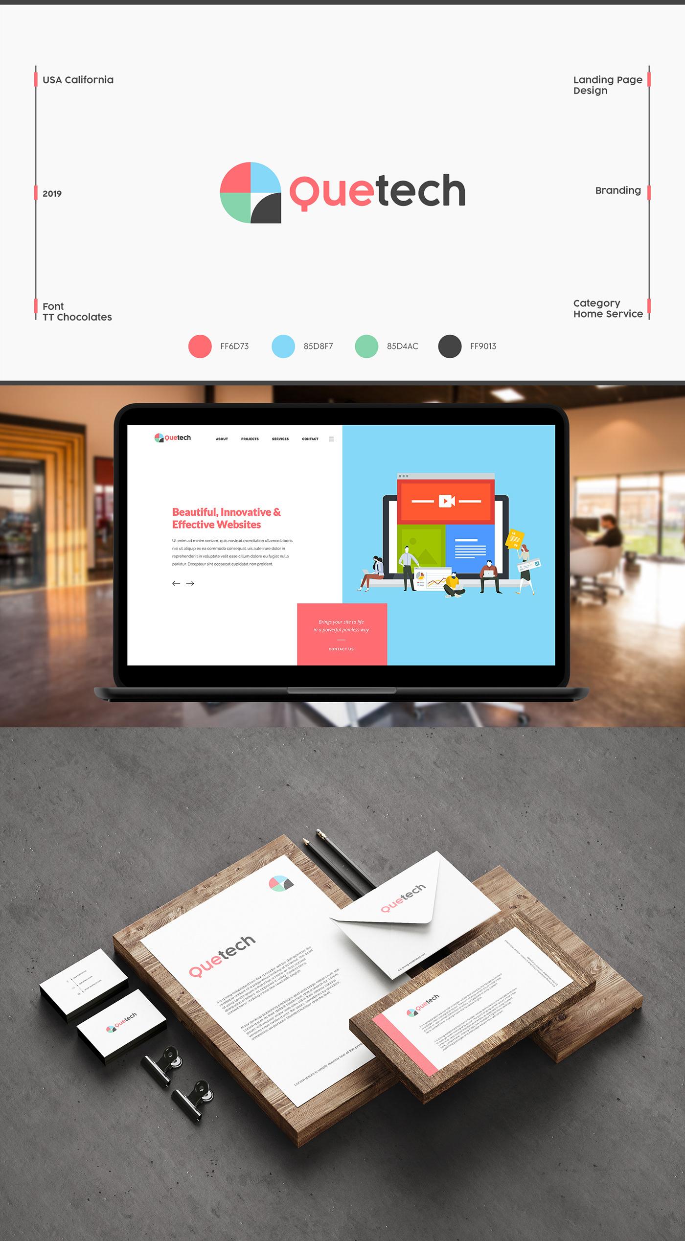 branding  logodesign USADesignProz webpage