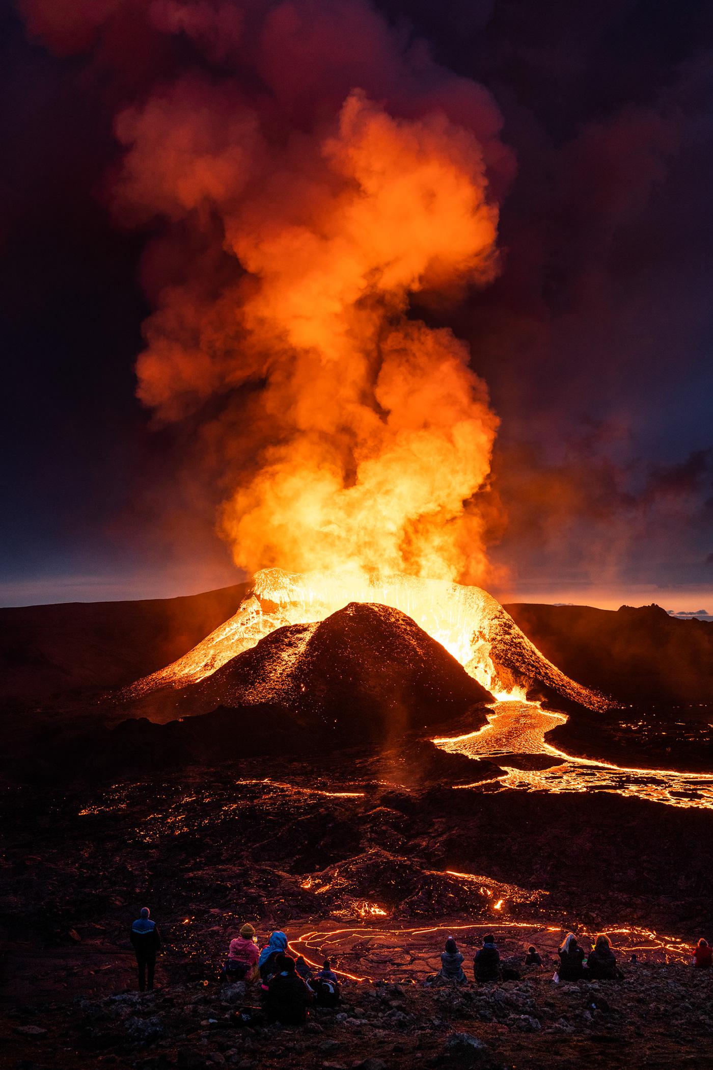 eruption Fagradalsfjall geldingardalir iceland lava Sig Vicious Siggeir volcano