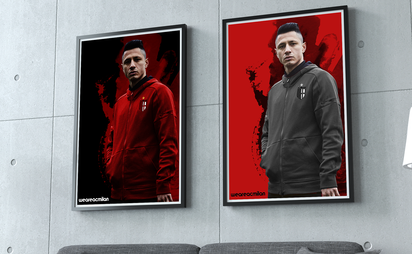 AC Milan / Branding And New Logo 17/18 on Behance