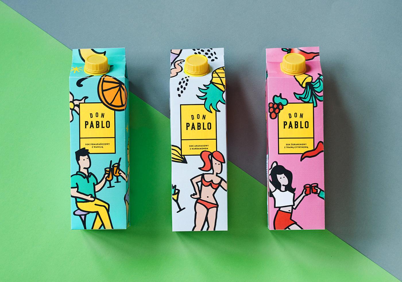 Don Pablo Label Art Designed By Paweł Jaczewski