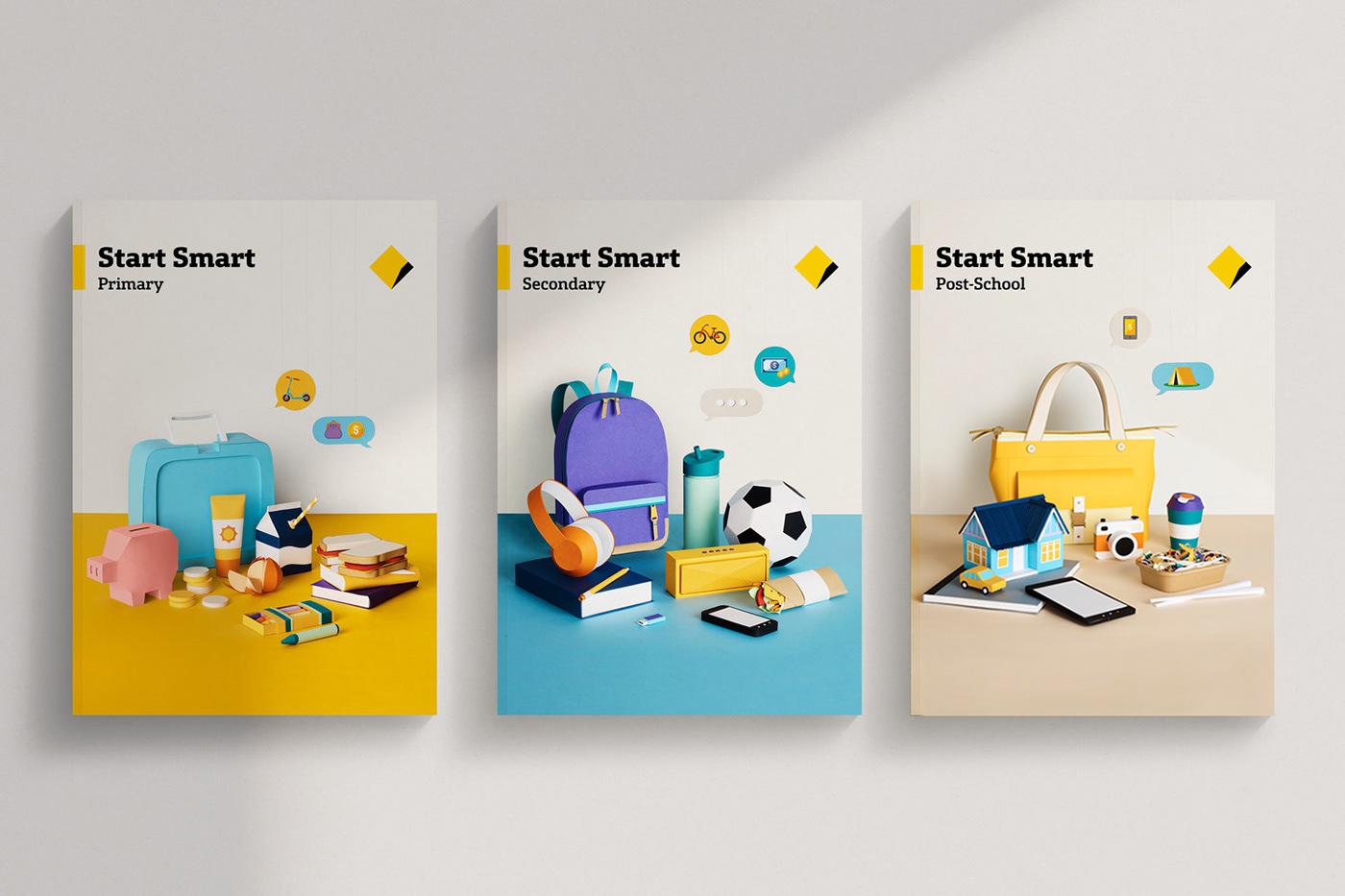 paper money kids Start Smart Education teaching smile