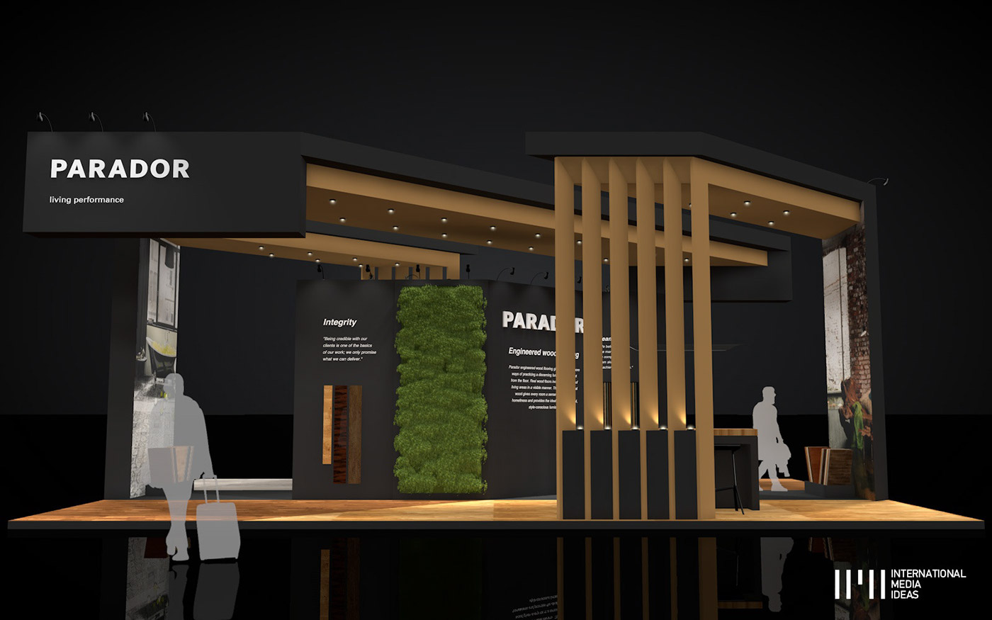 Ideas For Exhibition Stand Design : Parador exhibition stand on behance