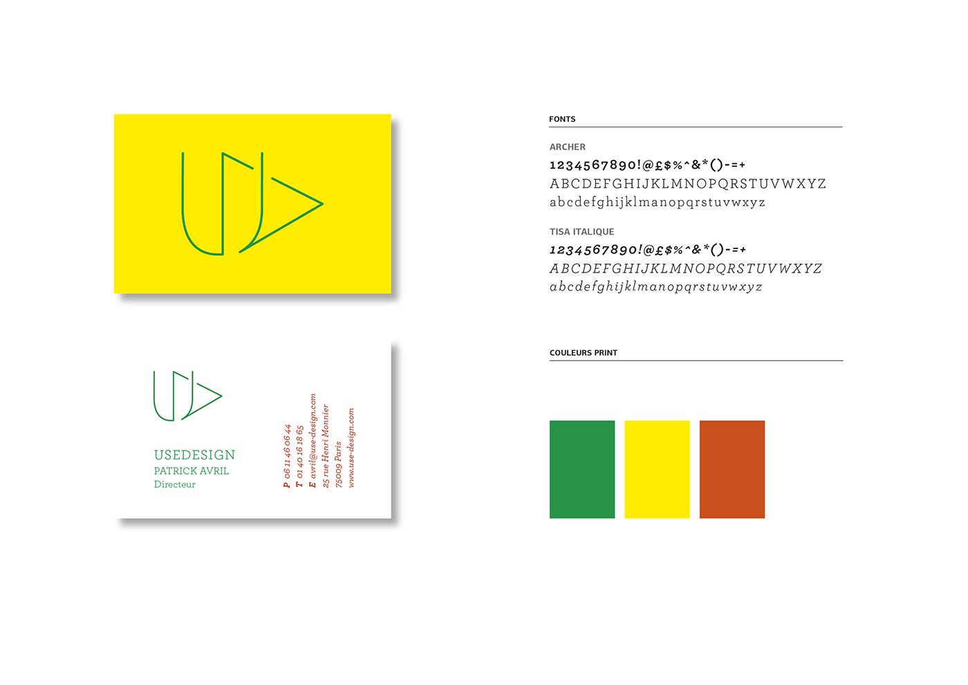 design logo identité interaction information design
