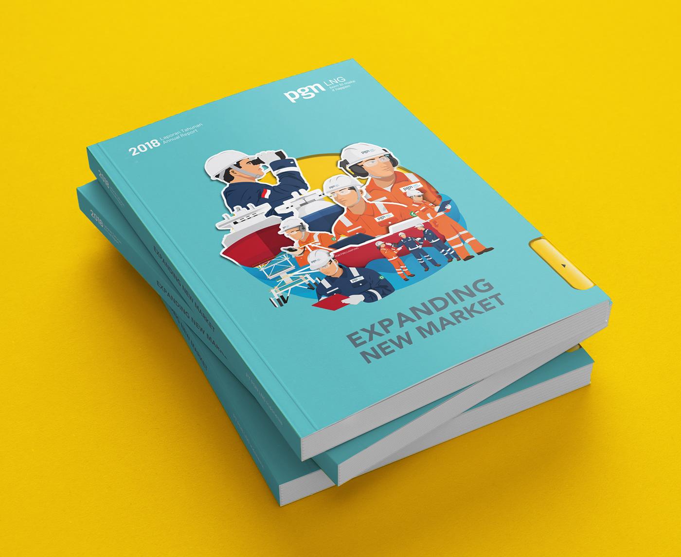 laporan tahunan annual report corporate communications
