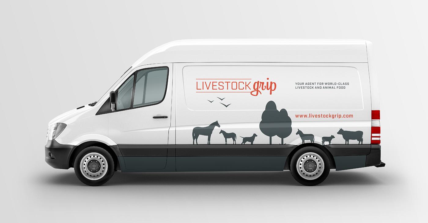 graphic design  identity Webdesign Livestock dutch eindhoven Jacco van Rooij