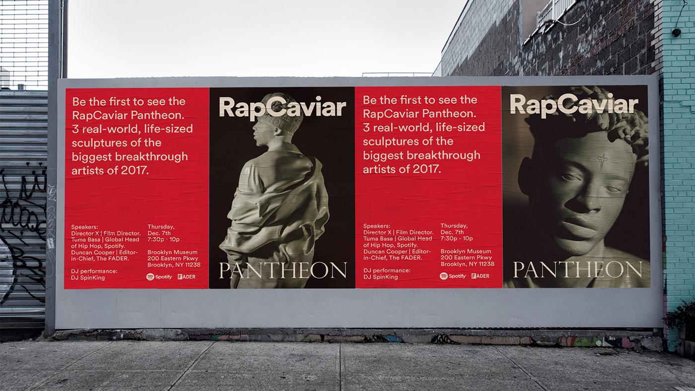 spotify Rapcaviar hip hop SZA 21 savage Metro Boomin rap music Brooklyn Museum sculpture